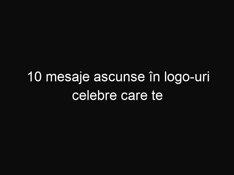 10 mesaje ascunse în logo-uri celebre care te vor uimi. Tu ştiai asta? - ShareThis