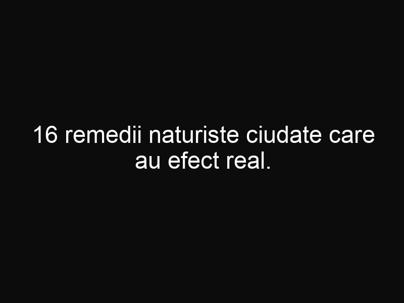 16 remedii naturiste ciudate care au efect real. Încearcă-le şi tu!