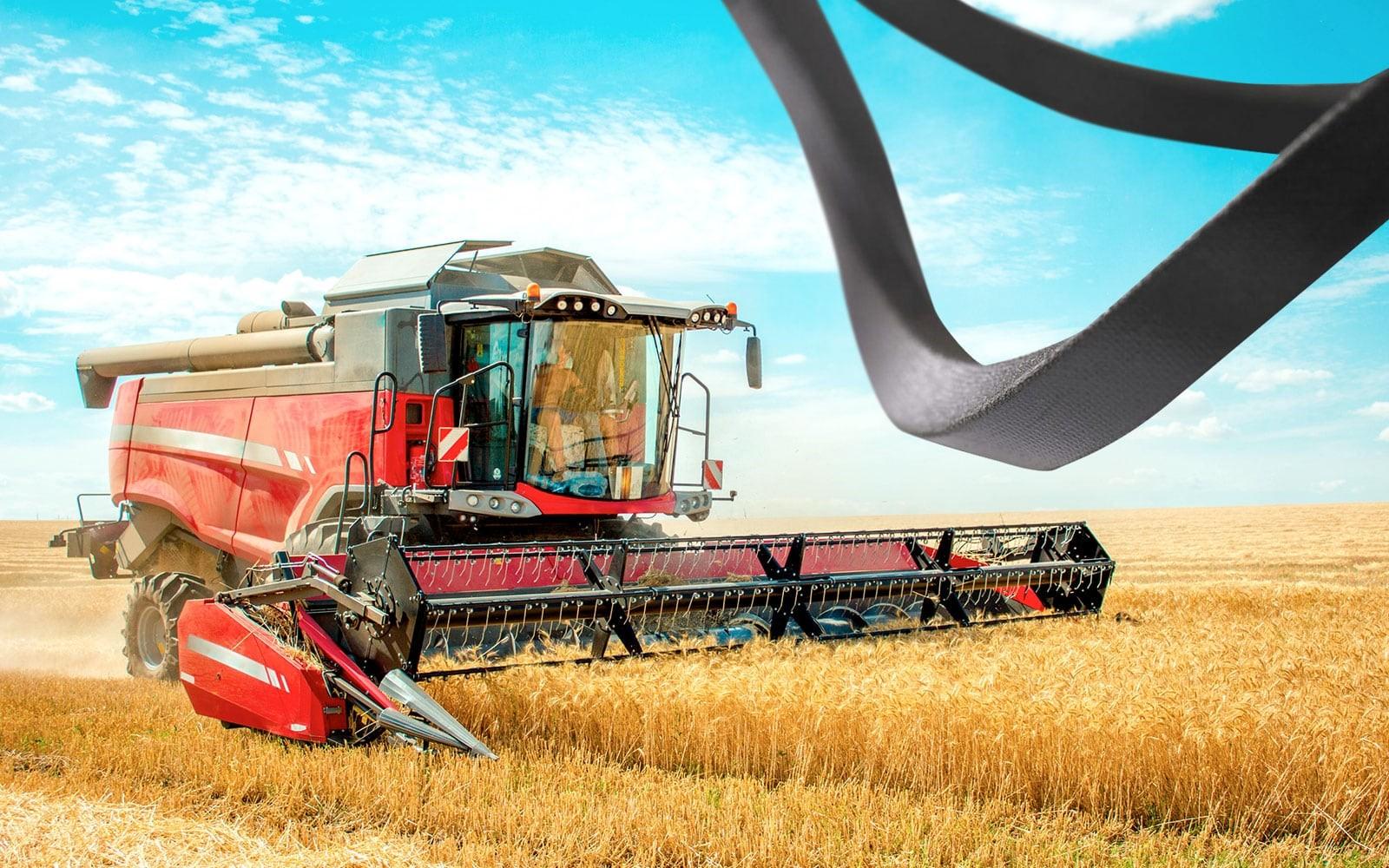 Curele de transmisie în agricultură