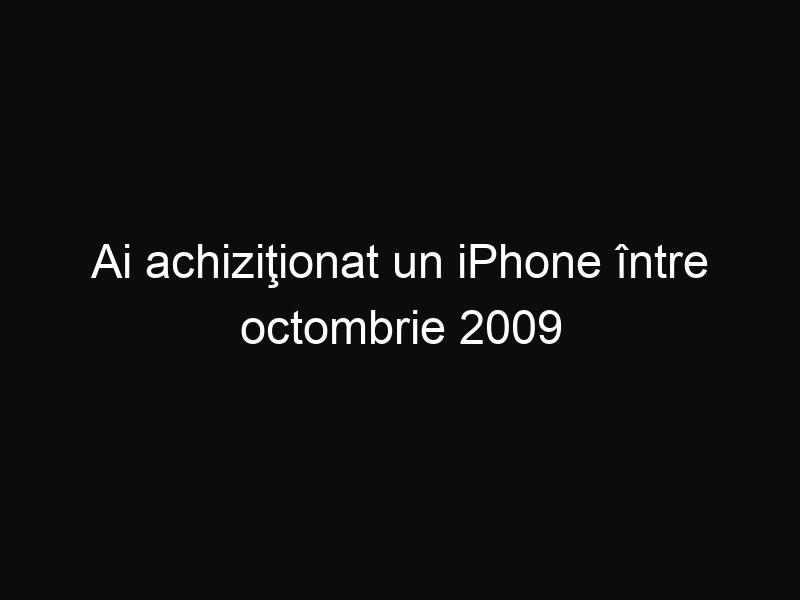 Ai achiziţionat un iPhone între octombrie 2009 şi septembrie 2012? Fii atent, poate avea un defect din fabricaţie