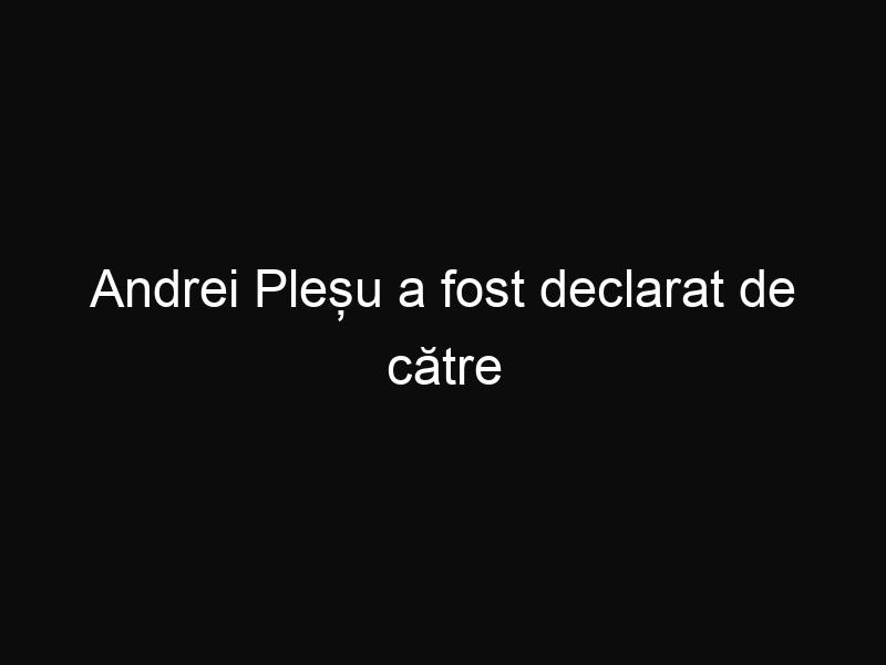 Andrei Pleșu a fost declarat de către Parlamentul European- câștigătorul Premiului Cetăţeanului European