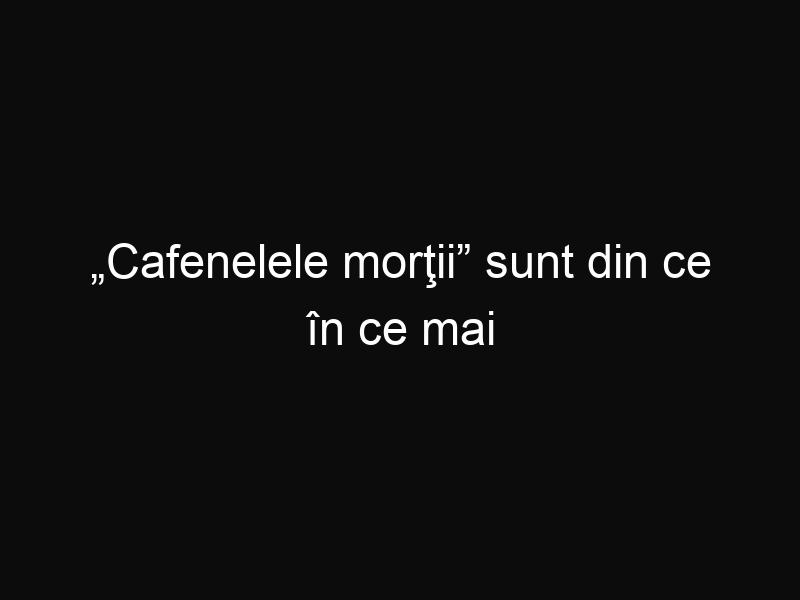 """""""Cafenelele morţii"""" sunt din ce în ce mai răspândite în Occident. Tu ai merge într-o astfel de cafenea?"""