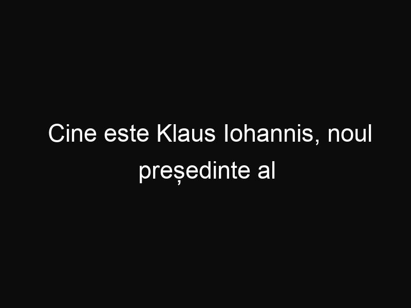 Cine este Klaus Iohannis, noul președinte al României. Uite cum vorbește în germană!