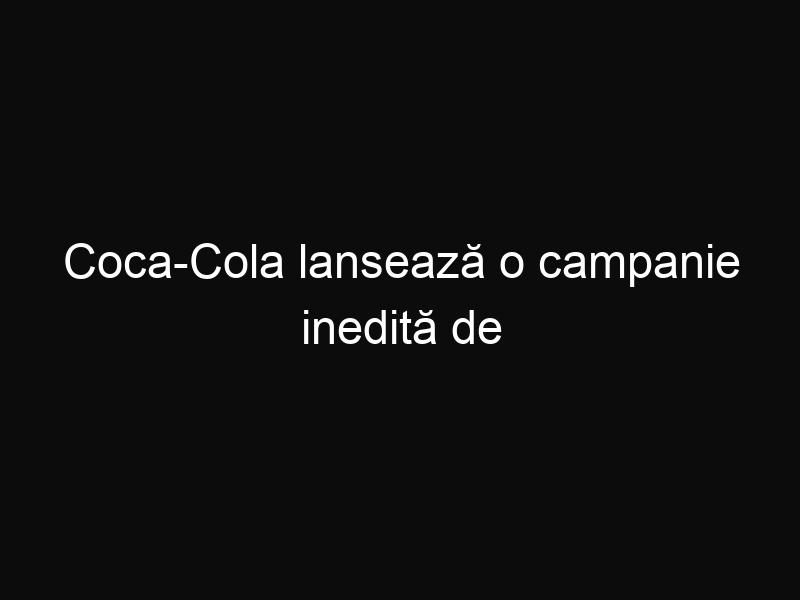 Coca-Cola lansează o campanie inedită de reciclare a peturilor de plastic. Uite în ce le poți transforma!