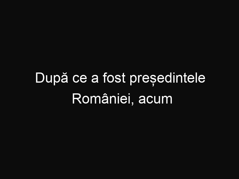 După ce a fost președintele României, acum Traian Băsescu este pensionar