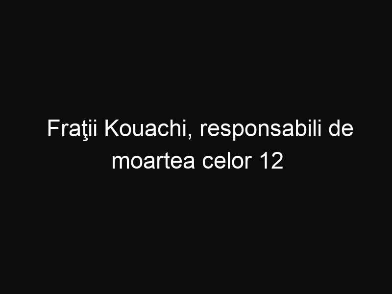 Fraţii Kouachi, responsabili de moartea celor 12 oameni din Paris, au fost ucisi. Se va termina totul aici?