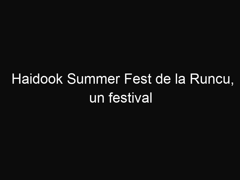 Haidook Summer Fest de la Runcu, un festival născut din legendele cu haiduci