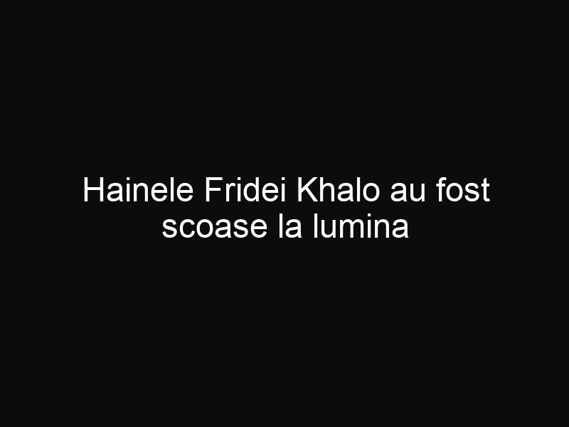 Hainele Fridei Khalo au fost scoase la lumina după 50 de ani