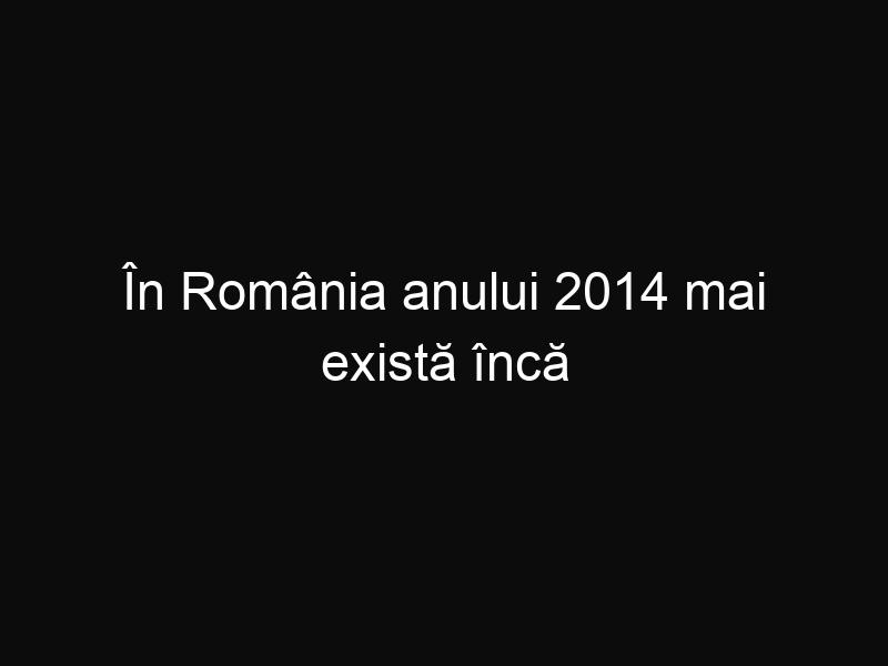 În România anului 2014 mai există încă drumuri de pământ pe care circulă mașinile