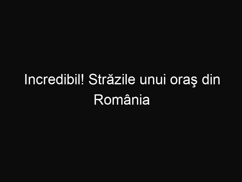 Incredibil! Străzile unui oraş din România sunt pavate cu aur. Îţi vine să crezi?