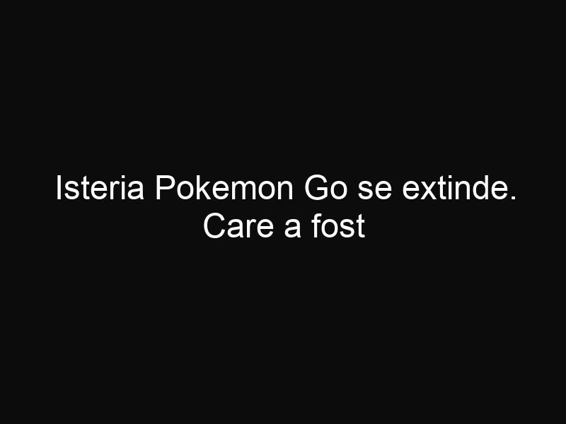 Isteria Pokemon Go se extinde. Care a fost reacţia bisericii după ce mai mulţi tineri au căutat pokemoni într-o biserică