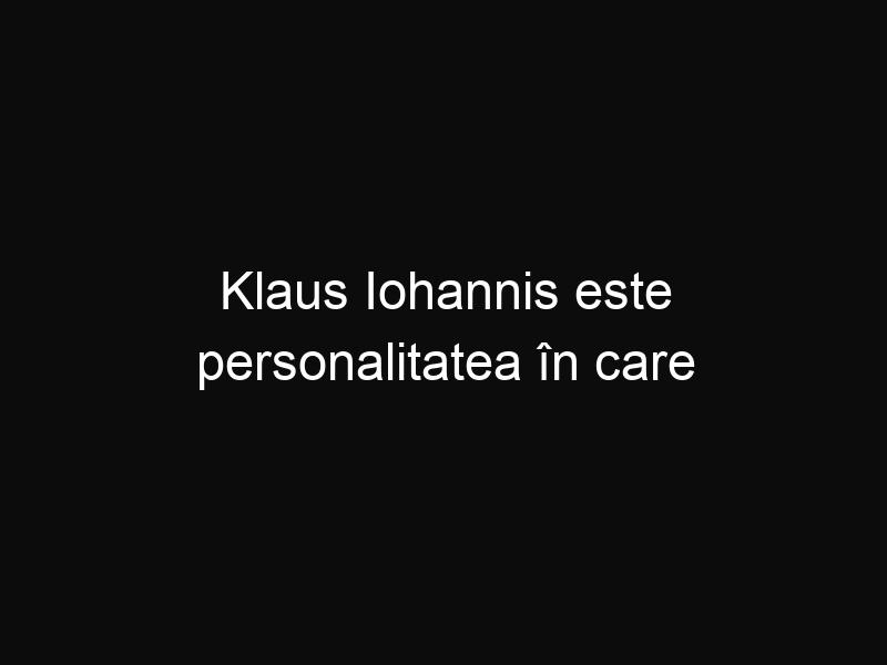 Klaus Iohannis este personalitatea în care românii au cea mai mare încredere