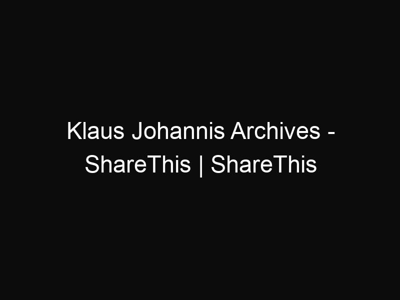 Klaus Johannis Archives - ShareThis | ShareThis