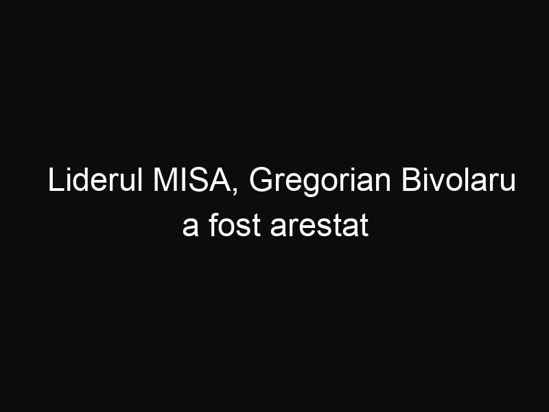 Liderul MISA, Gregorian Bivolaru a fost arestat