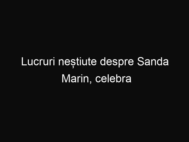 Lucruri neștiute despre Sanda Marin, celebra autoare a Bibliei pentru bucate