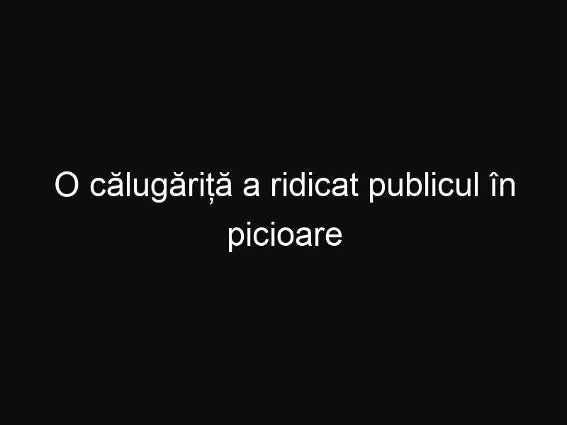 O călugăriță a ridicat publicul în picioare cu melodia interpretată la Vocea Italiei