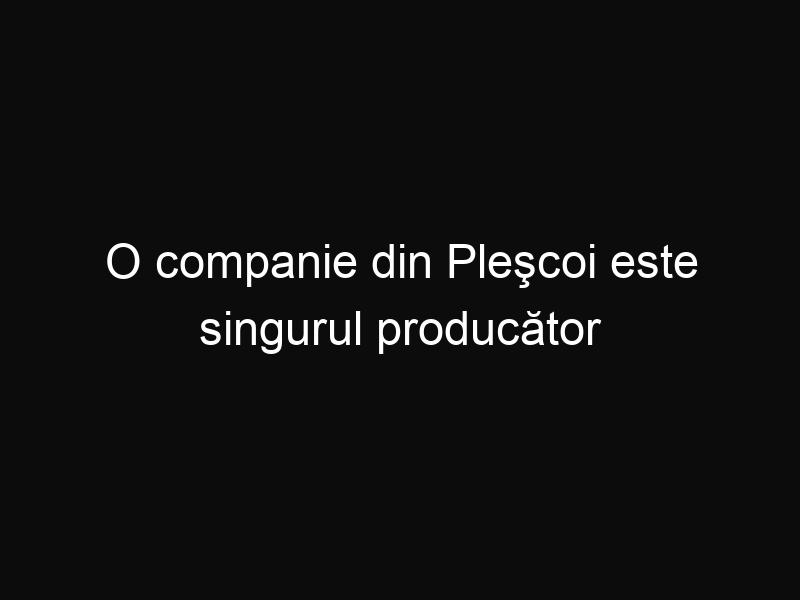 O companie din Pleşcoi este singurul producător de mici tradiţionali şi este în continuă dezvoltare