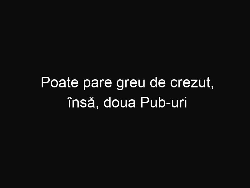 Poate pare greu de crezut, însă, doua Pub-uri din România se află in top ca fiind cele mai frumoase din lume