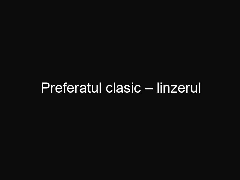Preferatul clasic – linzerul