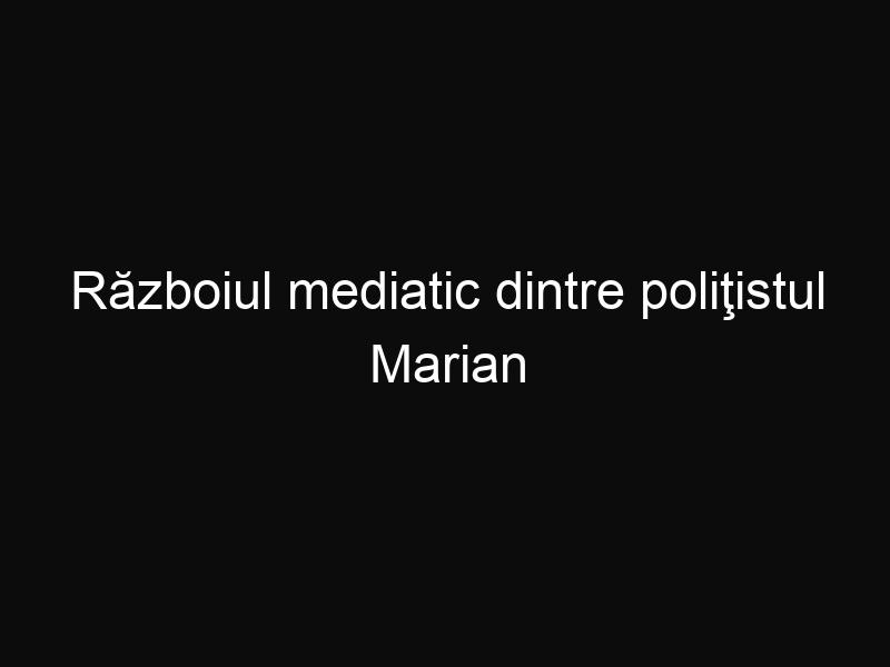 Războiul mediatic dintre poliţistul Marian Godină şi Cârcotaşi continuă. Declaraţiile acestora sunt din ce în ce mai tăioase