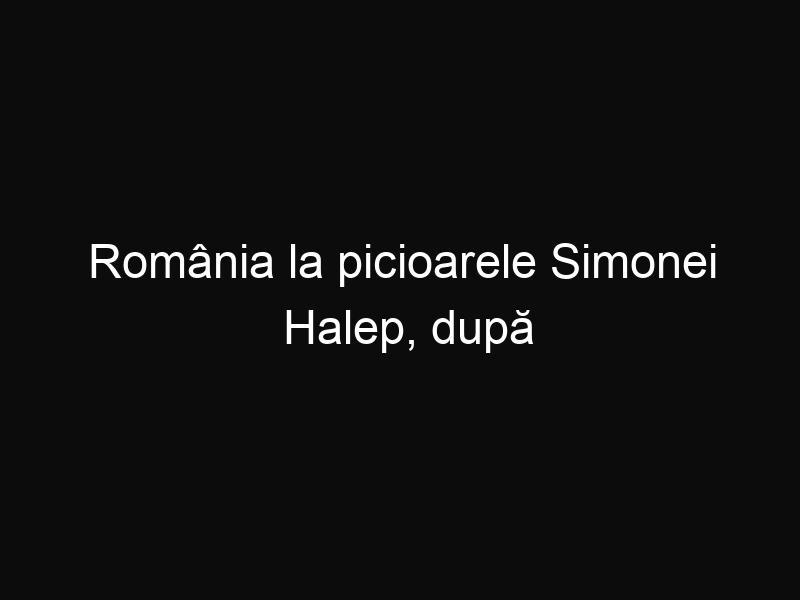 România la picioarele Simonei Halep, după turneul de tenis de la Madrid