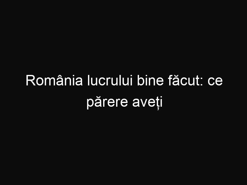 România lucrului bine făcut: ce părere aveți de impozitarea averilor Bisericii?