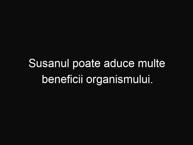 Susanul poate aduce multe beneficii organismului. Tu cât de des consumi seminţe de susan?