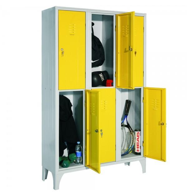 Pret, durabilitate, compartimentare: criterii esentiale cand cumperi un vestiar metalic!